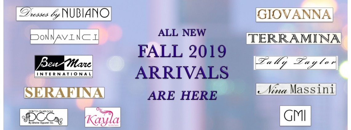 Fall New Arrivals